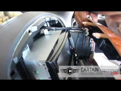 จานดาวเทียมติดรถยนต์ ฮุนได Hyundai H-1 [ ALPHARD VELLFIRE] โดย ธนาธรณ์ ผ้าม่านรถ