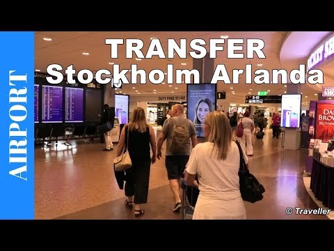 Transfer at Stockholm Arlanda Airport  | Walking inside Stockholm Airport | Travel Vlog