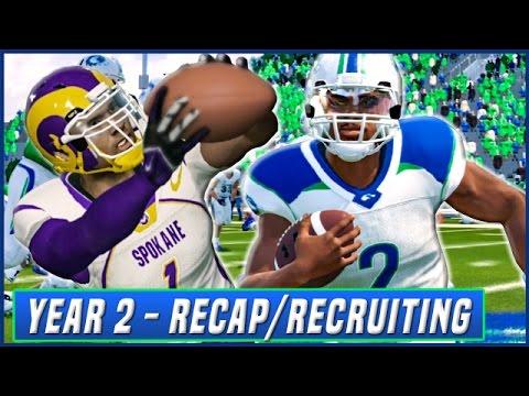 YEAR 2 RECAP & RECRUITING UPDATE - NCAA Football 14 Dynasty | Ep.33