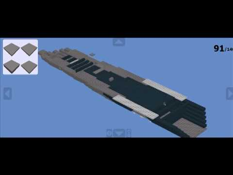 How To Build A Lego Battleship Part 1 Youtube