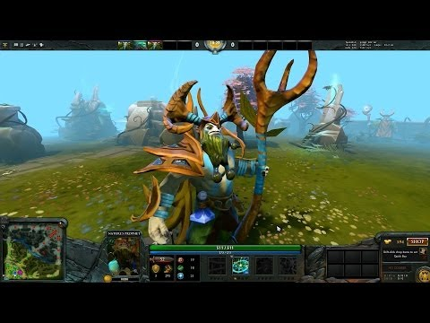 Review Sovereign of the Woodlands set - Dota2 Shop Thai
