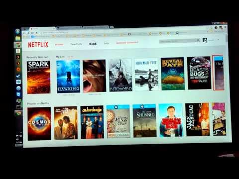 Netflix.com Xbox Controller Support