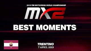 BEST MOMENTS MX2   MXGP of Trentino 2019   #motocross