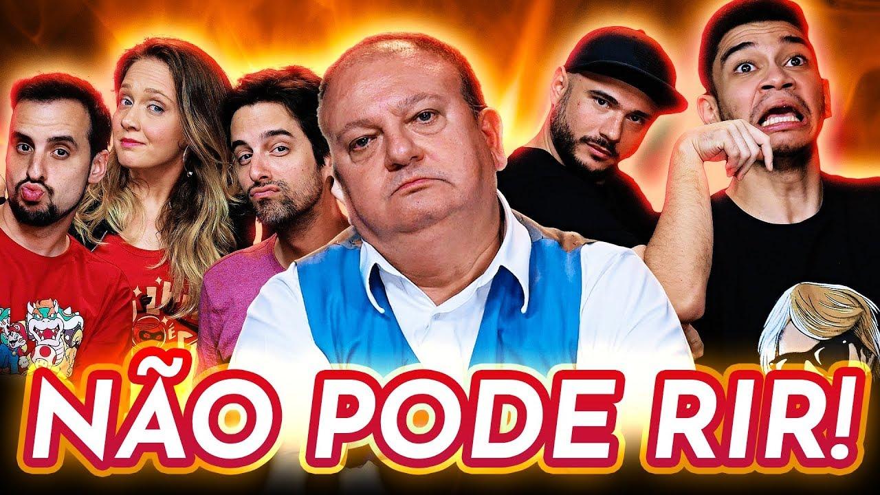 NÃO PODE RIR! - TODOS contra ERICK JACQUIN! feat. Igor Guimarães