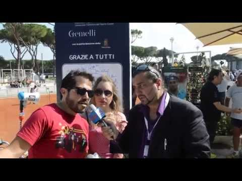 Tennis & Friends 2014 : Dejan e Palma di Karaoke  Rock Bike & Kristian TJ