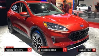 2020 Ford Escape Plug-In – Redline: First Look – 2019 Nyias