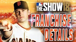 MLB The Show 18 Franchise Mode FULL DETAILS!