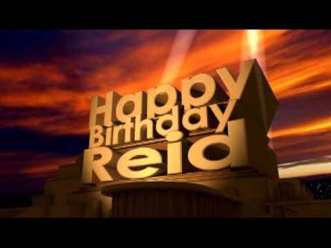 Happy Birthday Reid