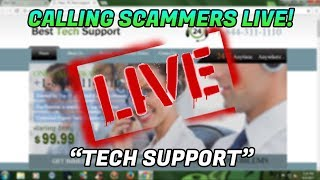 CALLING TECH SUPPORT SCAMMERS LIVE | popups | 12/12/18