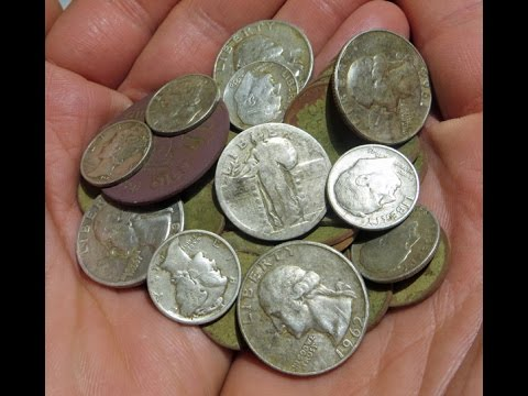 Metal Detecting Insane Dig! So Many Silver Coins JD And I Lost Count!
