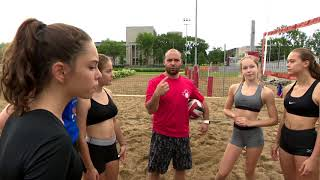 L'ESPRIT SPORTIF - TVA - VolleyBall: Camp perfectionnement Rouge et Or- Centre d'Excellence hockey