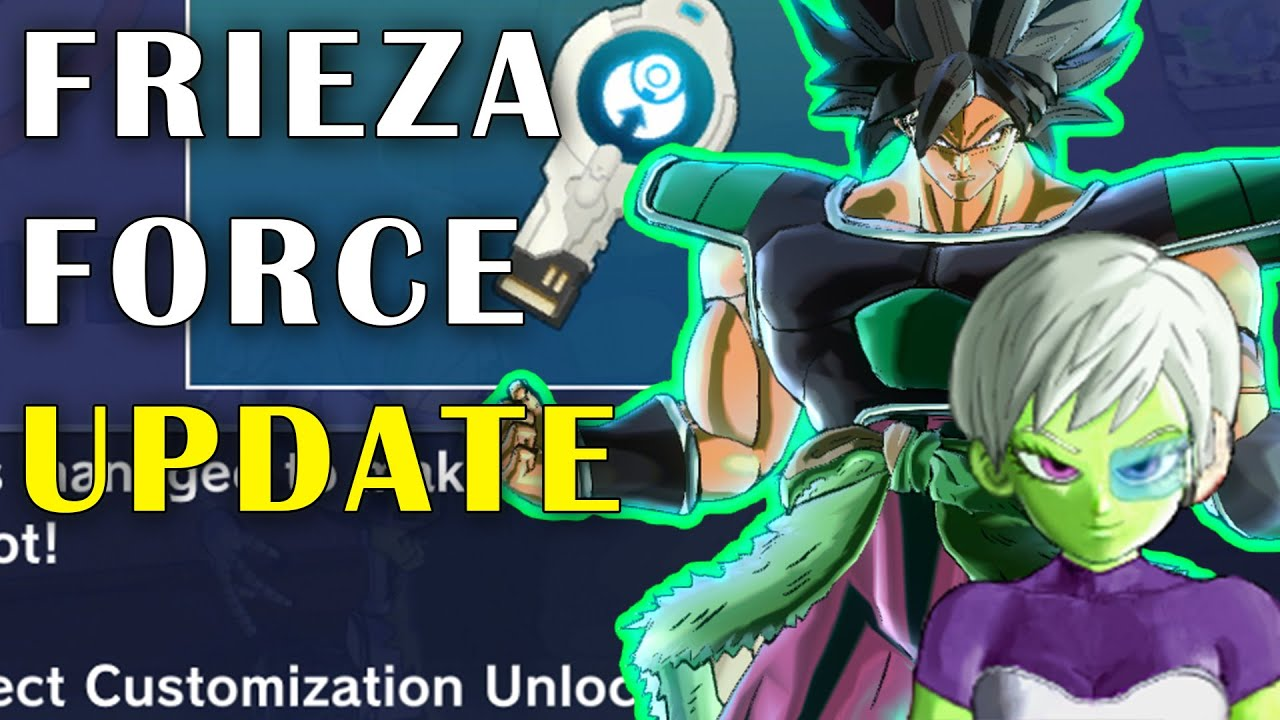 BROLY AND CHEELAI IN A NEW FREE UPDATE DLC 12! DRAGON BALL XENOVERSE 2 DLC