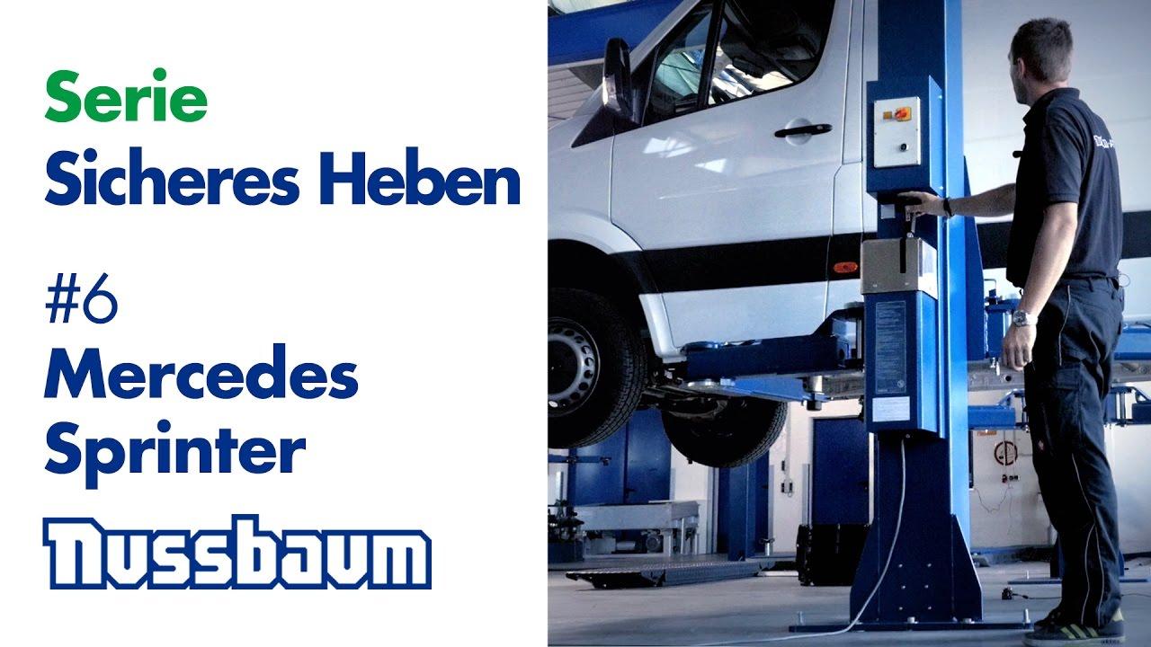 2016 Mercedes Sprinter >> Videoserie Sicheres Heben #6 Mercedes Sprinter - YouTube