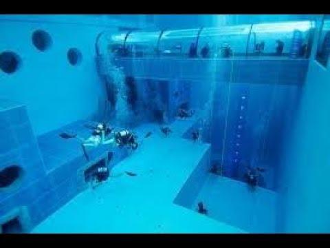 Pool Y-40. Max depth 42 meters ! (140 feet deep)