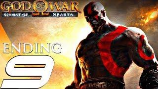 God of War Ghost of Sparta HD - Gameplay Walkthrough Part 9 - Final Boss & Ending [1080p 60fps]