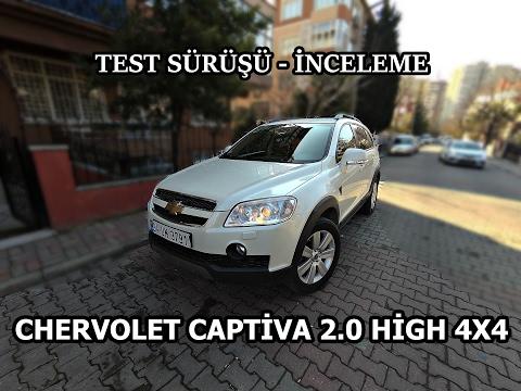 Chevrolet Captiva 2.0 High 4x4 - Test ve İnceleme (Sohbet Tadın'da)