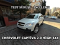 Chevrolet Captiva 2.0 High 4x4 - Test ve ?nceleme (Sohbet Tad?n'da)