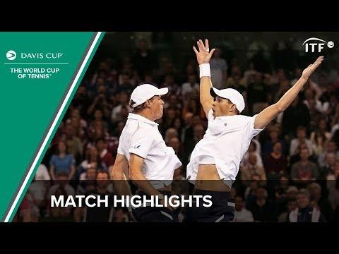 Highlights: Inglot/Murray (GBR) v Bryan/Bryan (USA)