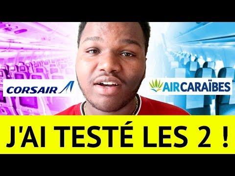 AIR CARAÏBES vs CORSAIR ?!