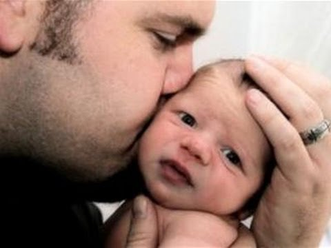 How To Cuddle Your Baby - YouTube