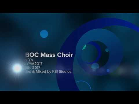 NY BOC Mass Choir - Montay Yo