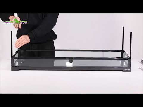 Reptizoo Knock Down Glass Terrarims Rk32cm Assembly Video Youtube