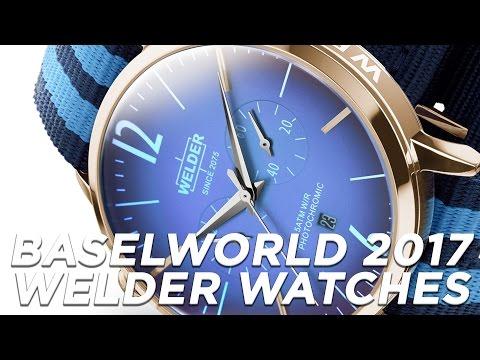 Welder Watches: Bold & Moody