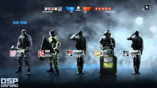Rainbow Six Siege g lay Xbox One pt1 - Glitched and Twitched great start