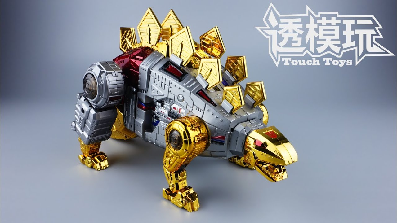 【SwiftTransform】Stegosaurus! SNARL! Autobot Dinobot GP SNARL Giga Power G1 Transformers 透模玩速变 變形金刚