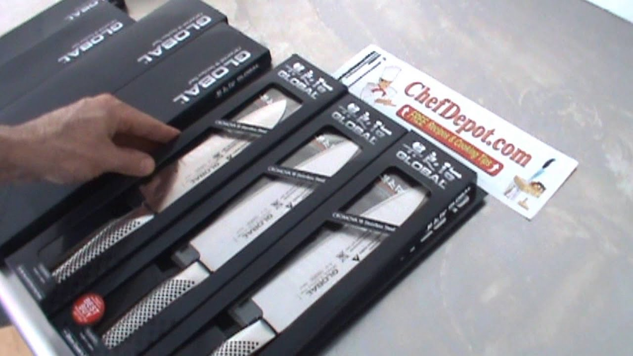 Japanese Kitchen Knife Set Where To Buy Cabinets Best - Youtube