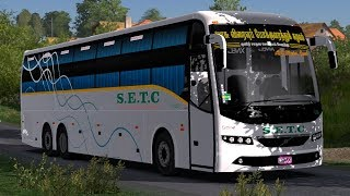 🔴 SETC Sleeper Bus | Top Speed Chase & Overtaking Multi-Axl…