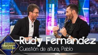 Rudy Fernández bromea sobre la altura de Pablo Motos - El Hormiguero 3.0
