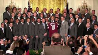 President Obama Welcomes the Colorado Rapids