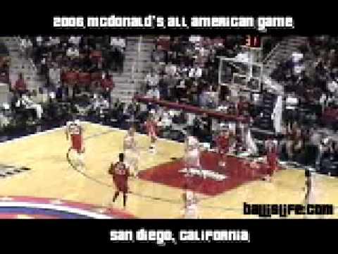 353b29269e9d 2006 McDonald s All American Game Highlights - YouTube