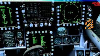 FSX F/A-18 Tutorial - Autopilot & Navigation Systems