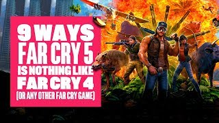 9 Ways Far Cry 5 is Not Like Far Cry 4 (Or Any Other Far Cry) - New Far Cry 5 Gameplay