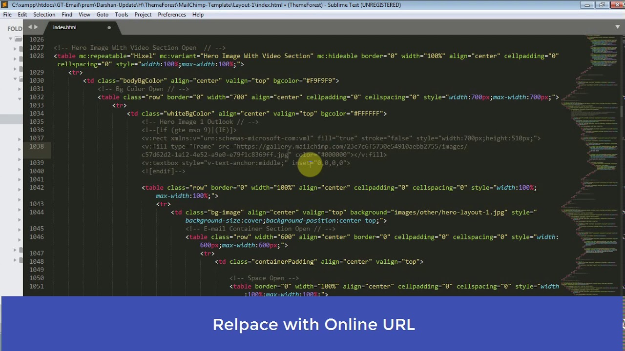 Outlook Background Images Mailchimp Themeforest Responsive Email