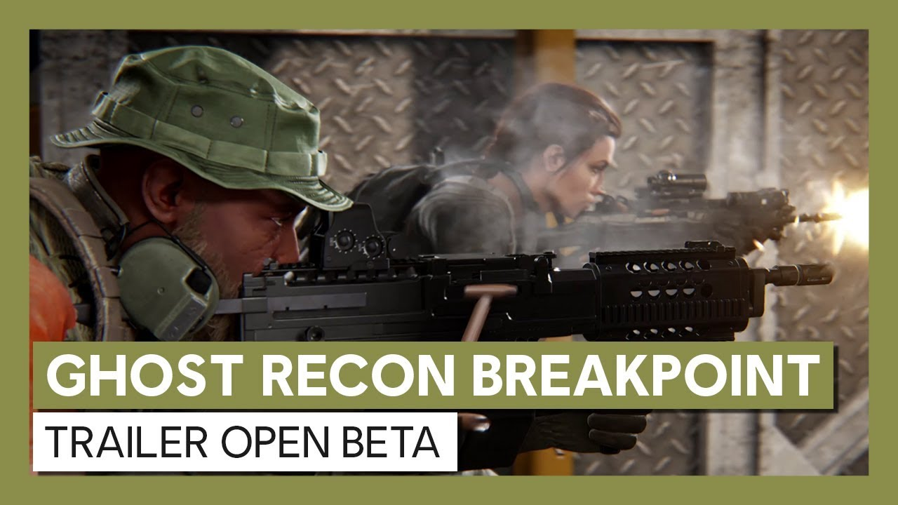 Ghost Recon Breakpoint: Trailer Open Beta