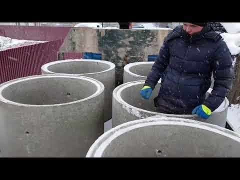 Копаем шахтный колодец зимой,снт ветеран-авио