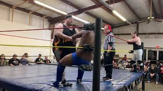 Big Willie Jones & The Prophet Sinclair w/ Boyd VS Kid Thrasher & Trash Kan Graham