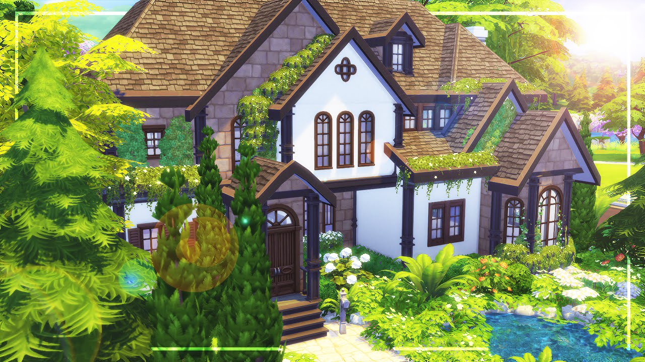 The sims 4 speed build autumnburn cove youtube for The cove house