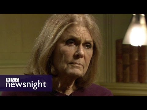 "Gloria Steinem on Beyonce, Hillary Clinton and what makes a ""proper feminist"" - BBC Newsnight"