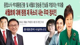 18년4월2일 박대통령 근황 및 최순실반박,박대출.정유섭.김진태 세월호관련발언