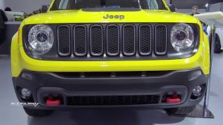 2018 Jeep Renegade TrailHawk - Exterior And Interior Walkaround - 2018 Montreal Auto Show