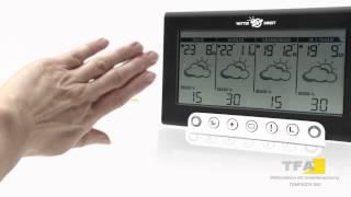 TFA Tempesta 300 - Funk Wetterstation mit Unwetterwarnung