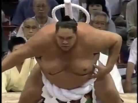 Yokozuna AKEBONO ~ 曙の天皇賜杯 2 復活,..