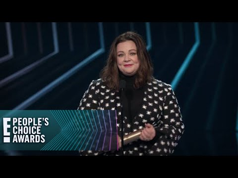 Melissa McCarthy Speaks Her Mind While Accepting Icon Award  E! People's Choice Awards
