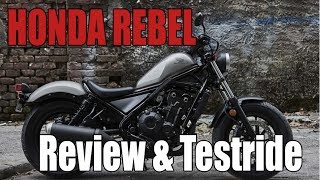 Honda Rebel 500 Review & Testdrive