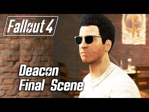 Fallout 4 - Deacon - Final Approval Scene