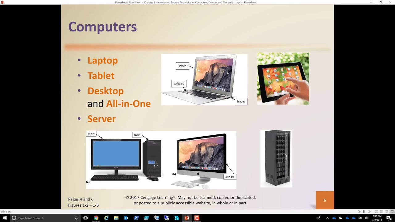Chapter 1 Part 1 Introduction to Computing Technologies